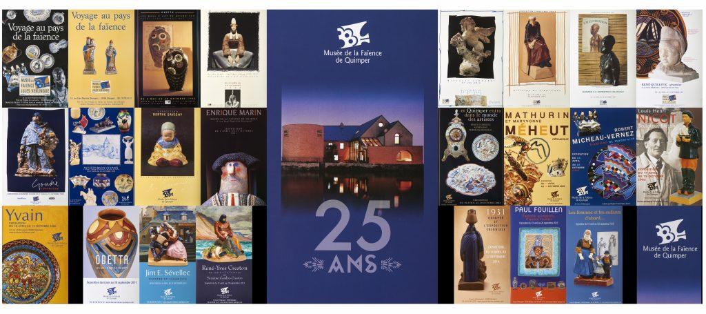 histoire 25 ans d'exposition