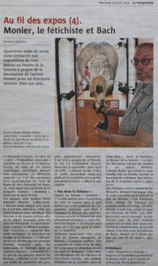 article Le Télégramme du 13 août 2014