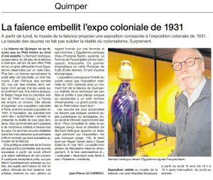 article Ouest France 2014