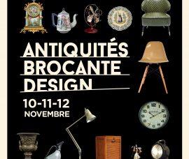 Succès de la 40ème édition du salon Antiquités, Brocante, Design de Quimper