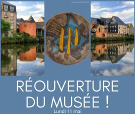 Réouverture du musée, le lundi 11 mai 2020. Enfin !!!