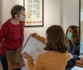 Cours de dessin déconfinés, délocalisés… au musée !!!